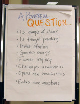 Photo - What is a powerful question?
